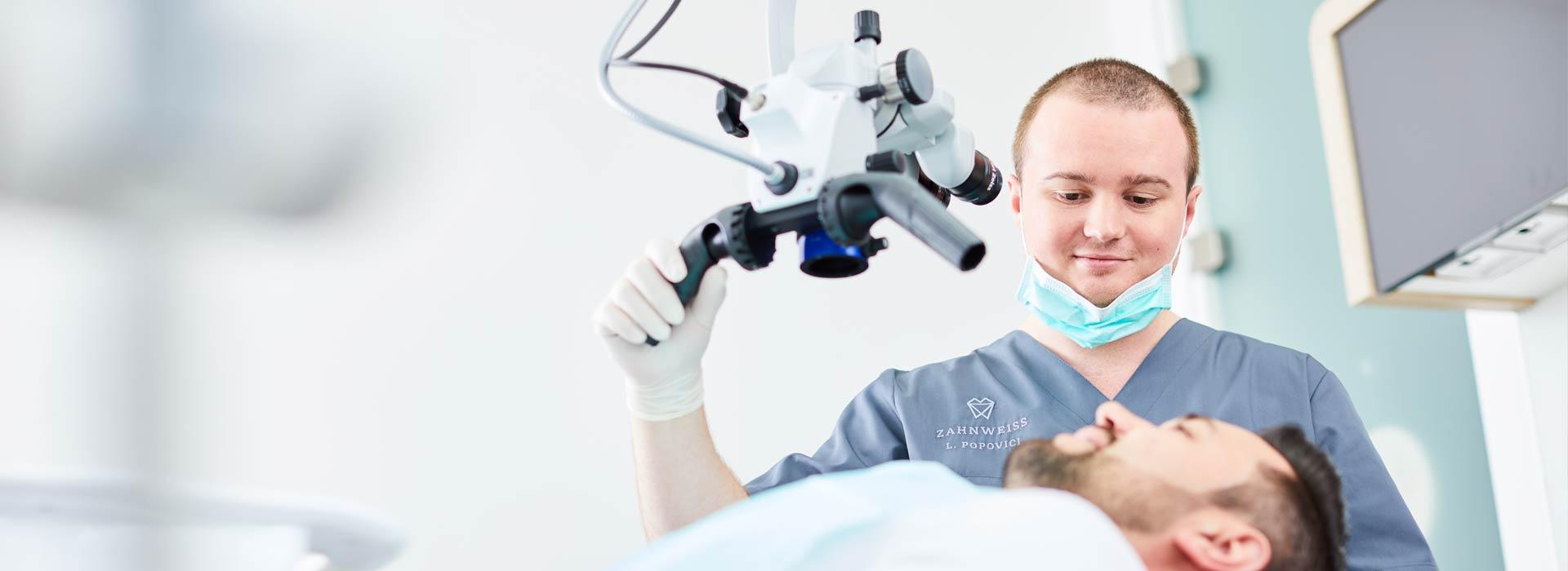 ZAHNWEISS – Praxis für moderne Zahnmedizin - Endodontie 1
